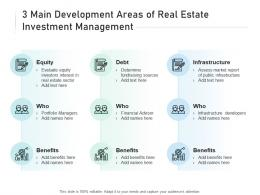 3 Main Development Areas Of Real Estate Investment Management