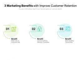 3 Marketing Benefits With Improve Customer Retention