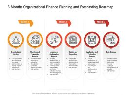 3 Months Organizational Finance Planning And Forecasting Roadmap