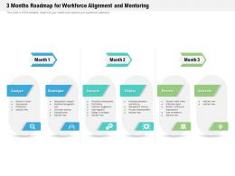 3 Months Roadmap For Workforce Alignment And Mentoring