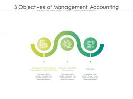 3 Objectives Of Management Accounting
