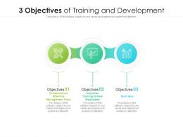 3 Objectives Of Training And Development