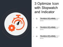 3 Optimize Icon With Stopwatch And Indicator