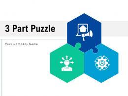 3 Part Puzzle Business Process Analysis Strategy Technology Enterprise