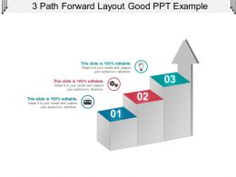 3 Path Forward Layout Good Ppt Example