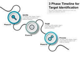 3 Phase Timeline For Target Identification