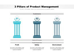 3 Pillars Of Product Management