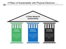 3 Pillars Of Sustainability With Physical Electronic
