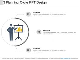 3 Planning Cycle Ppt Design