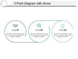 3 Point Diagram With Arrow