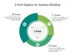 3 Point Graphics For Systems Modeling Infographic Template