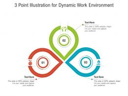 3 Point Illustration For Dynamic Work Environment Infographic Template