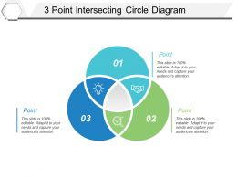 3 Point Intersecting Circle Diagram