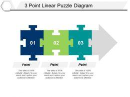 3 Point Linear Puzzle Diagram