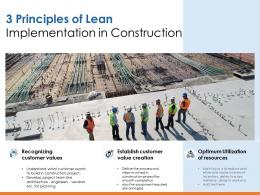 3 Principles Of Lean Implementation In Construction