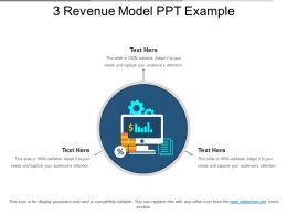 3 Revenue Model Ppt Example