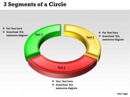 3 Segments of a Circle 1
