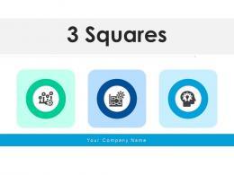 3 Squares Business Framework Management Improvement Process Performance