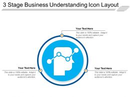 3 Stage Business Understanding Icon Layout