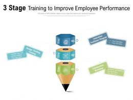 3 Stage Training To Improve Employee Performance