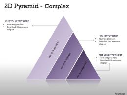 3 Staged Triangle For Business Process