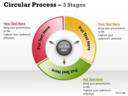 3 Stages Business Process For Communication 5