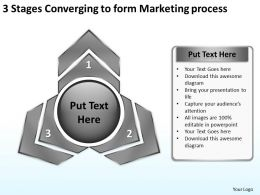 3_stages_converging_to_form_marketing_process_circular_network_ppt_powerpoint_templates_Slide02