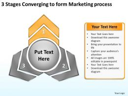 3_stages_converging_to_form_marketing_process_circular_network_ppt_powerpoint_templates_Slide03