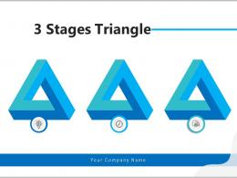 3 Stages Triangle Individual Business Process Horizontal Triangle Financial Analysis