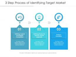 3 Step Process Of Identifying Target Market