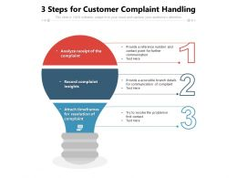 3 Steps For Customer Complaint Handling