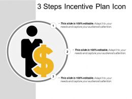 3 Steps Incentive Plan Icon
