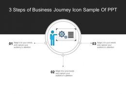 3_steps_of_business_journey_icon_sample_of_ppt_Slide01