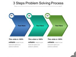 3 Steps Problem Solving Process Example Of Ppt
