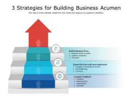 3 Strategies For Building Business Acumen