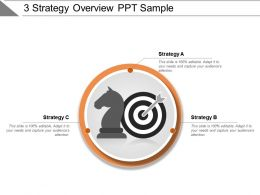 3 Strategy Overview Ppt Sample