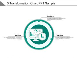 3 Transformation Chart Ppt Sample