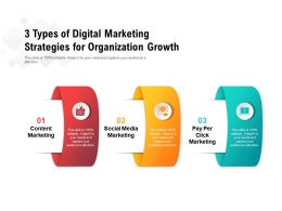 3 Types Of Digital Marketing Strategies For Organization Growth