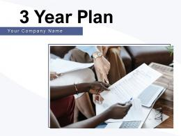 3 Year Plan Business Planning Opportunities Growth Strategies Marketing