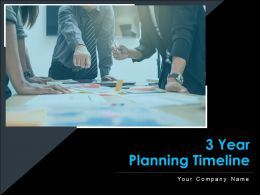 3 Year Planning Timeline Business Plan Achievement Innovation Development