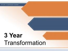 3 Year Transformation Business Evaluation Process Funnel Manufacturing Operational Excellence