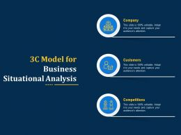 3c Model For Business Situational Analysis