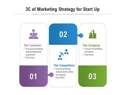 3c Of Marketing Strategy For Start Up