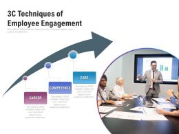 3c Techniques Of Employee Engagement