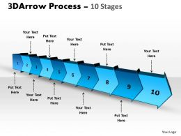 3D Arrow Process 10 Stages 1