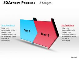 3D Arrow Process 2 Stages 2