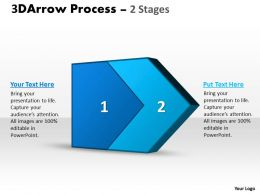 3D Arrow Process 2 Stages 3