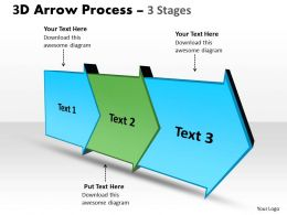 3D Arrow Process 3 Stages 2