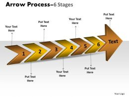 3D Arrow Process 6 Stages 2