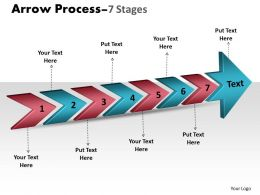 3D Arrow Process 7 Stages 2